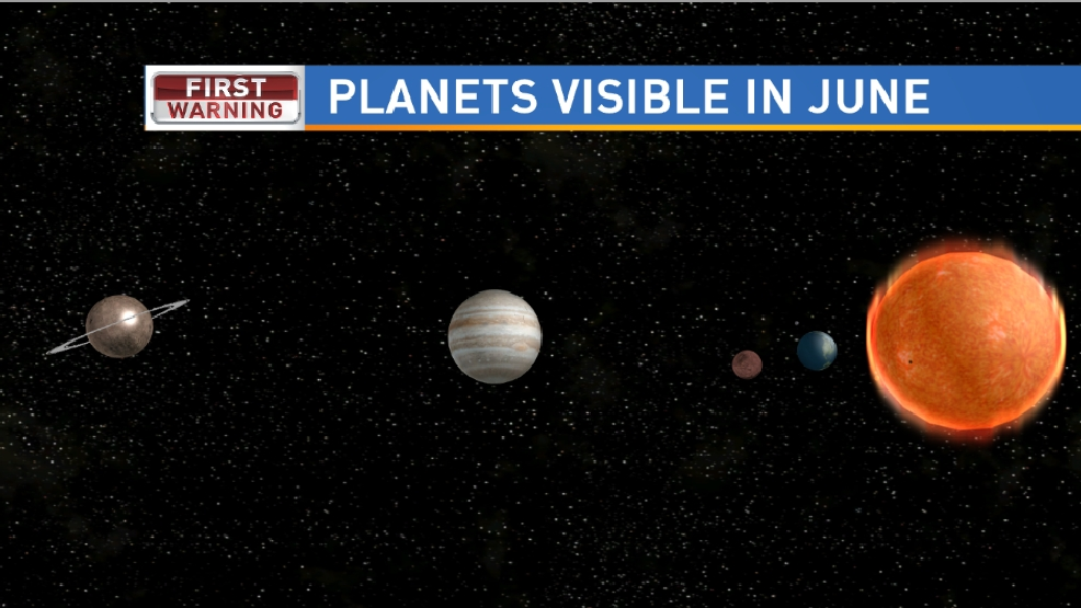 Stargazers' delight: Three planets visible in June night sky