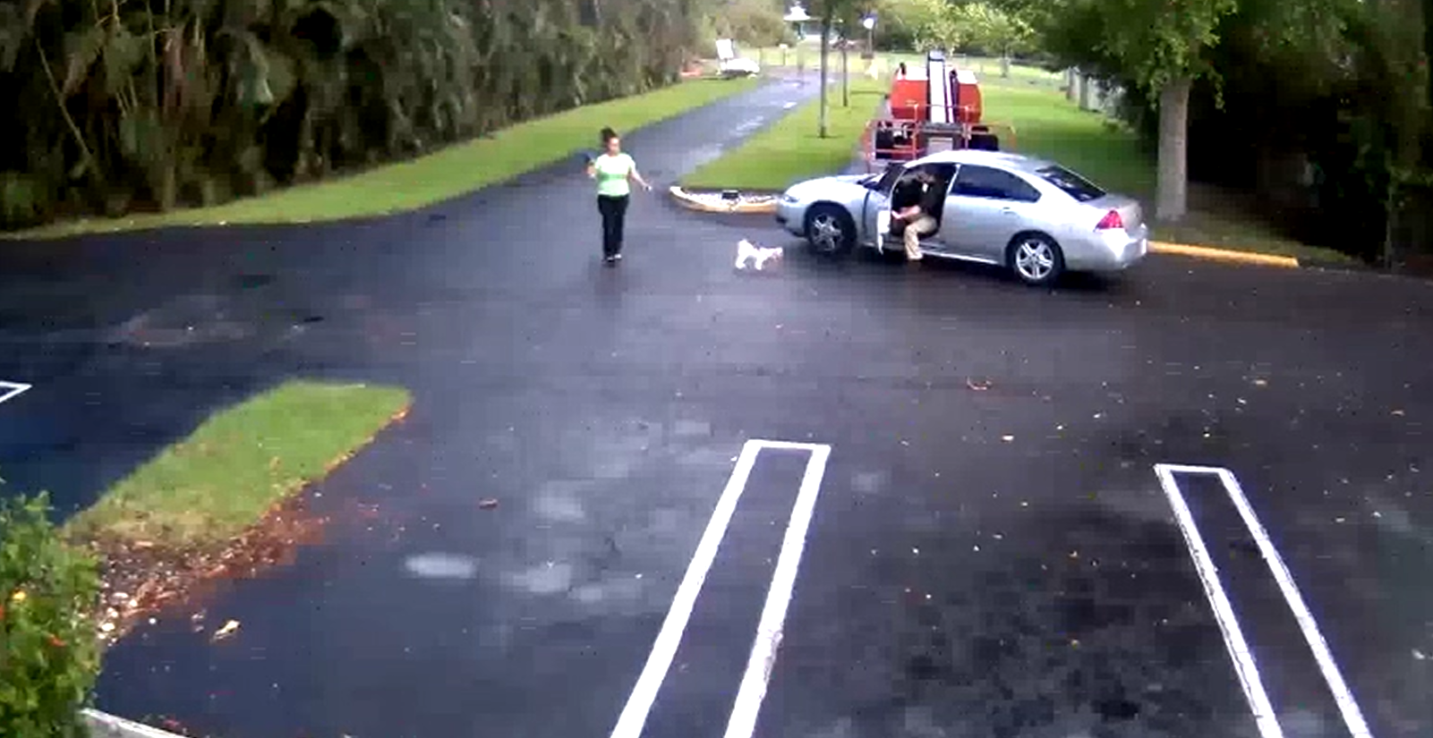 Video shows shooting involving PBSO deputy and ex-girlfriend. (WPEC)