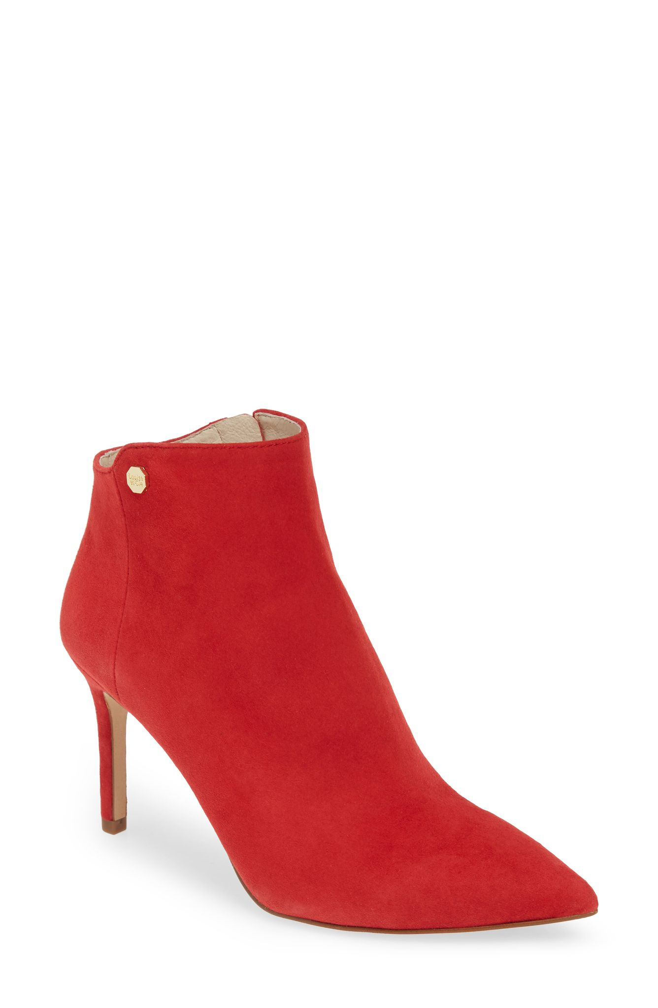 Louise et Cie Sid Heeled Bootie (normally $149.95): NOW $99.90 (Image: Nordstrom)<p></p>