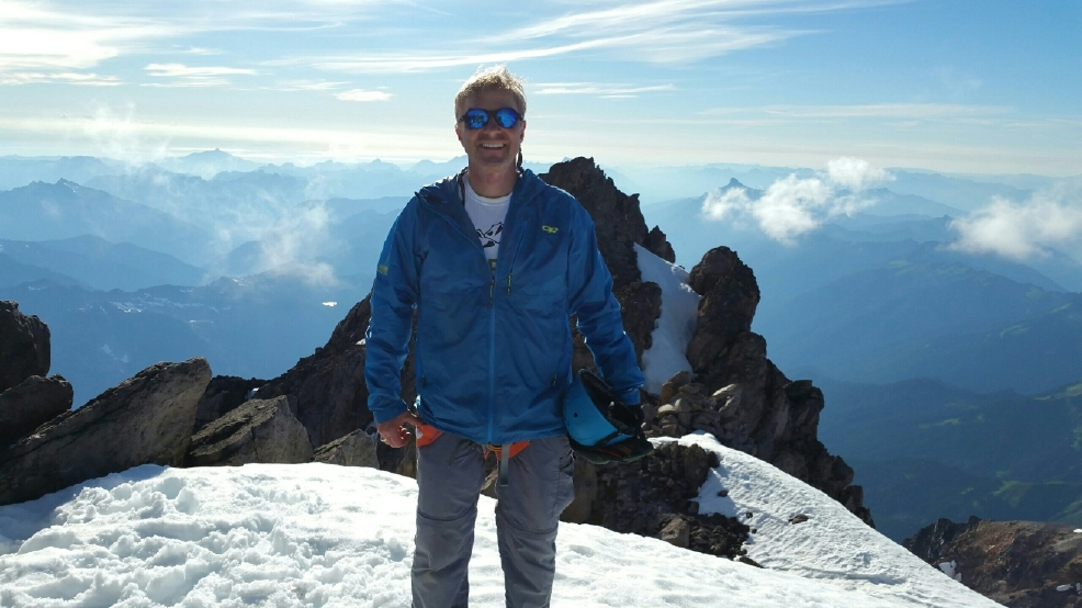 KVI's Carlson summits Glacier Peak to fight cancer
