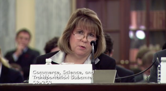 Witness and Associate Professor of Computer Science and Engineering at Mississippi State University Dr. Cindy L. Bethel / Photo: Senate Committee on Commerce, Science, &amp;amp; Transportation's Subcommittee on Communications, Technology, Innovation, and the Internet<p></p>