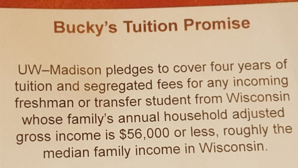 Uw Madison Free Tuition For Families Making Less Than 56k Wmsn