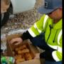 VIDEO: Utah children greet 'best garbage man ever' with cookies and Mountain Dew