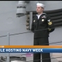 Mobile hosting Navy Week