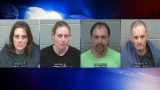 Dead body found, 4 charged in connection with Old Town meth lab