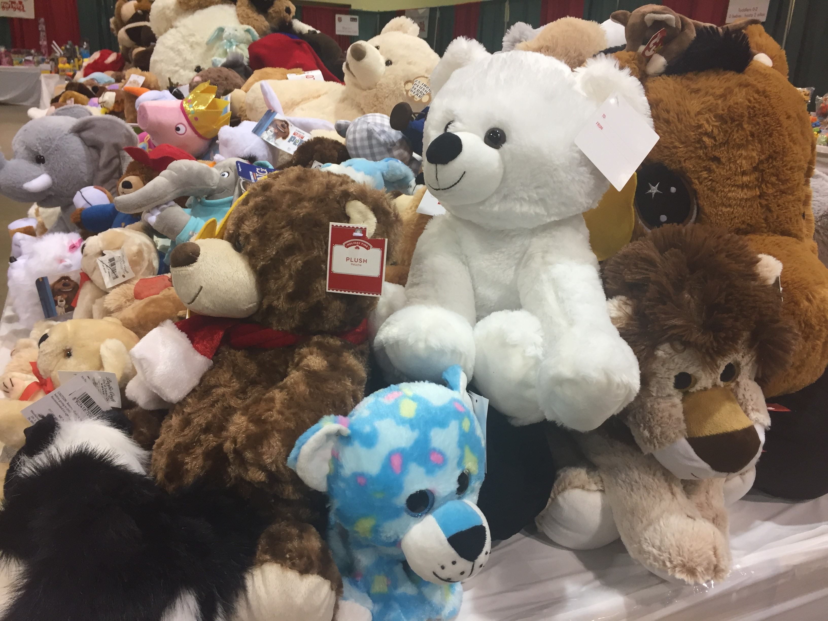 Items from the Salvation Army Christmas{&amp;nbsp;}assistance program in Green Bay, December 20, 2017. (WLUK/Justin Steinbrinck)<p></p>