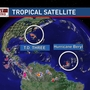 Tropical systems in the Atlantic