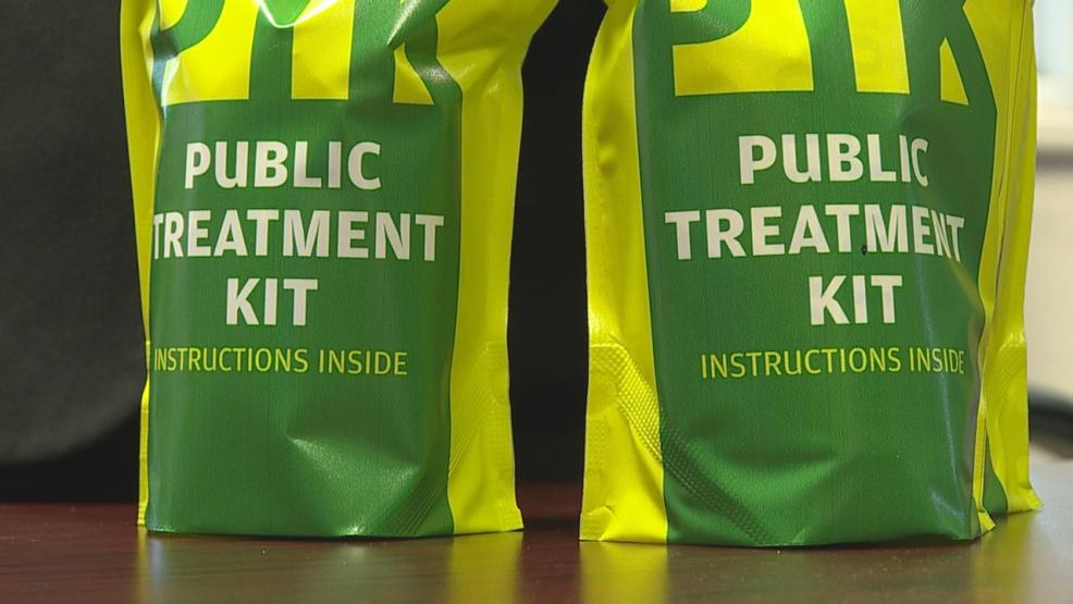 Safety kits will soon be in classrooms and hallways at Newark City Schools. (WSYX/WTTE)
