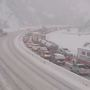 Winter storm forces road, canyon closures