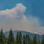 Wildfire triples in size, filling sky over Western Oregon with smoke
