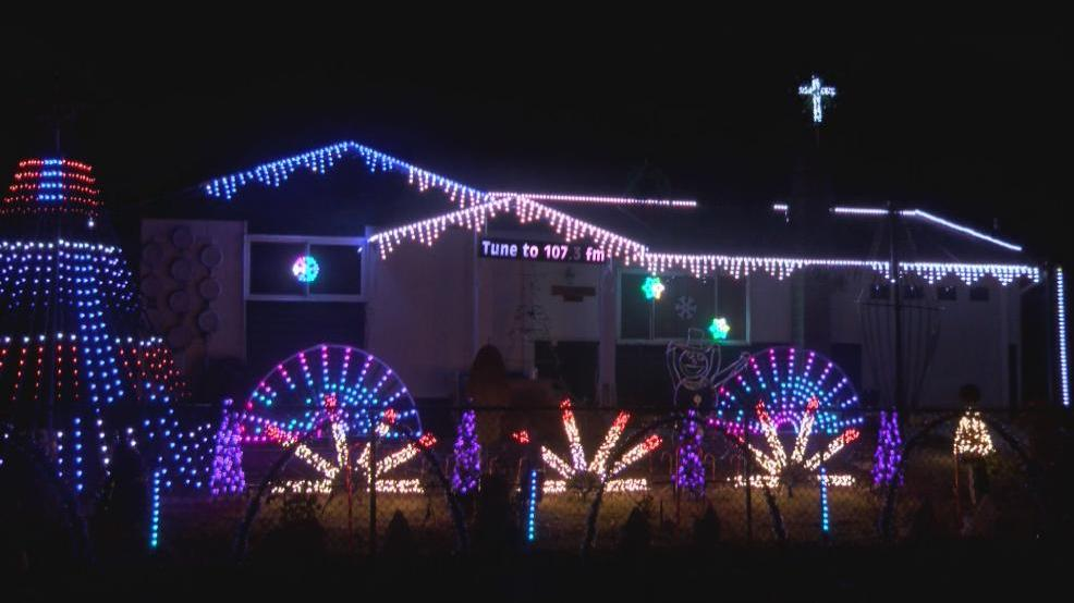 christmas display is a year round process for lewiston resident
