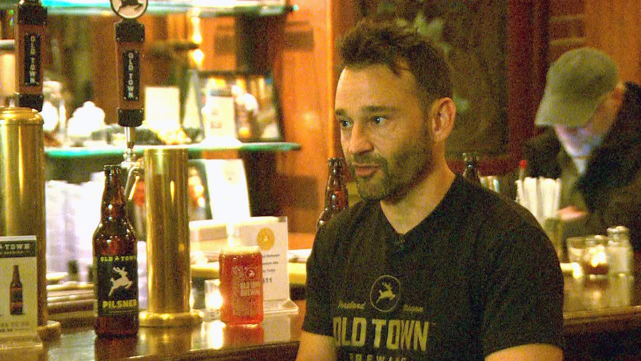 Adam Milne, owner of Old Town Pizza & Brewing, says he offered to sit down with the city and negotiate, but he says the city refused to compromise. (KATU Photo)