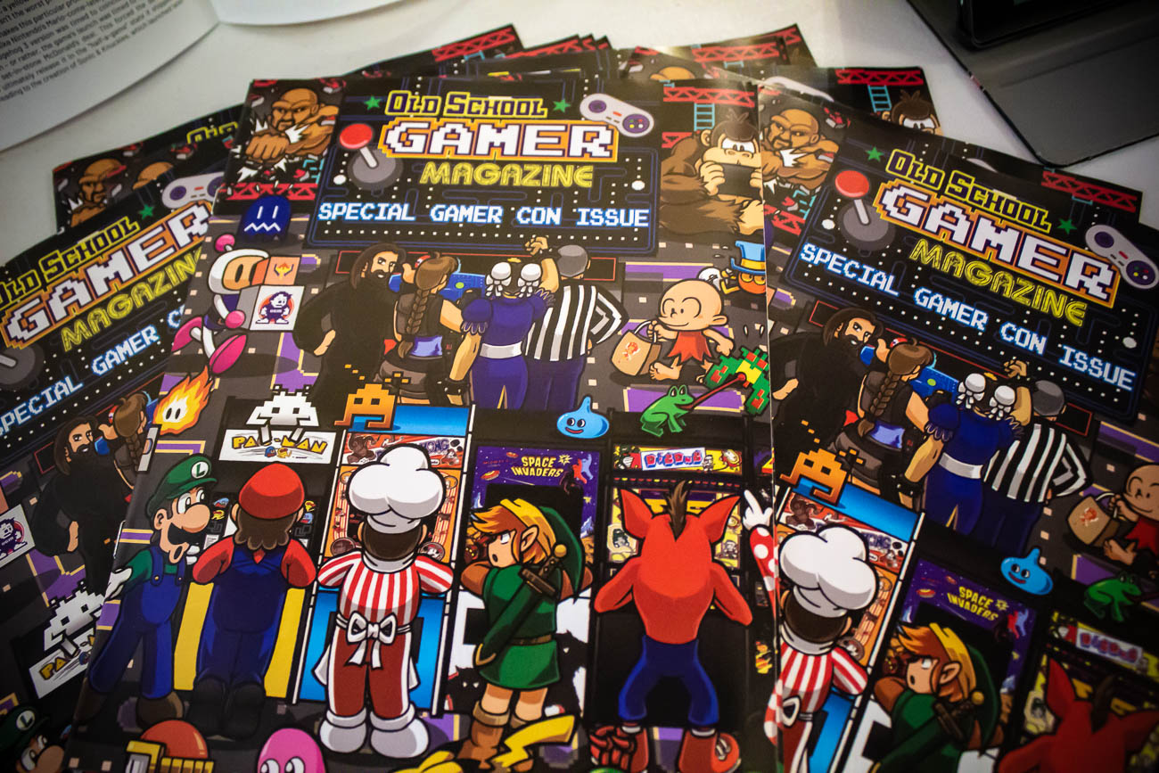 Old School Gamer Magazine offers free digital downloads of their publication at OldSchoolGamerMagazine.com. / Image: Katie Robinson, Cincinnati Refined // Published: 5.19.19