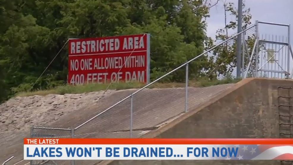 Settlement reached, four lakes along Guadalupe River will not be drained