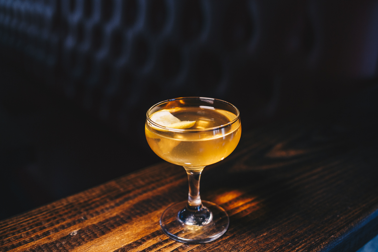 Antibond: High West Bourbon, cucumber mint vodka, dry vermouth, and lemon / Image: Catherine Viox // Published: 4.15.19