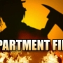 Tenants displaced after food left on stove causes damage to apartments