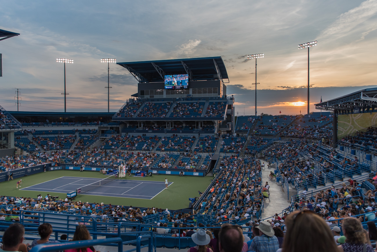 The 2019 Western & Southern Open (August 10-18) had tennis fans gathered at the Lindner Family Tennis Center in Mason. The event has been held in the area since 1899, making it the longest-running professional tennis tournament to be held in its original city. / Image: Mike Menke // Published: 8.29.19