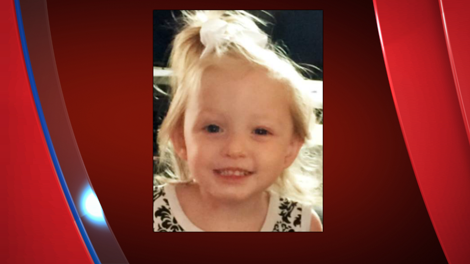 Melaniey Corsaut, 2, was last seen July 3 in Elgin, Oklahoma. (Courtesy of the Chickasha Police Department)