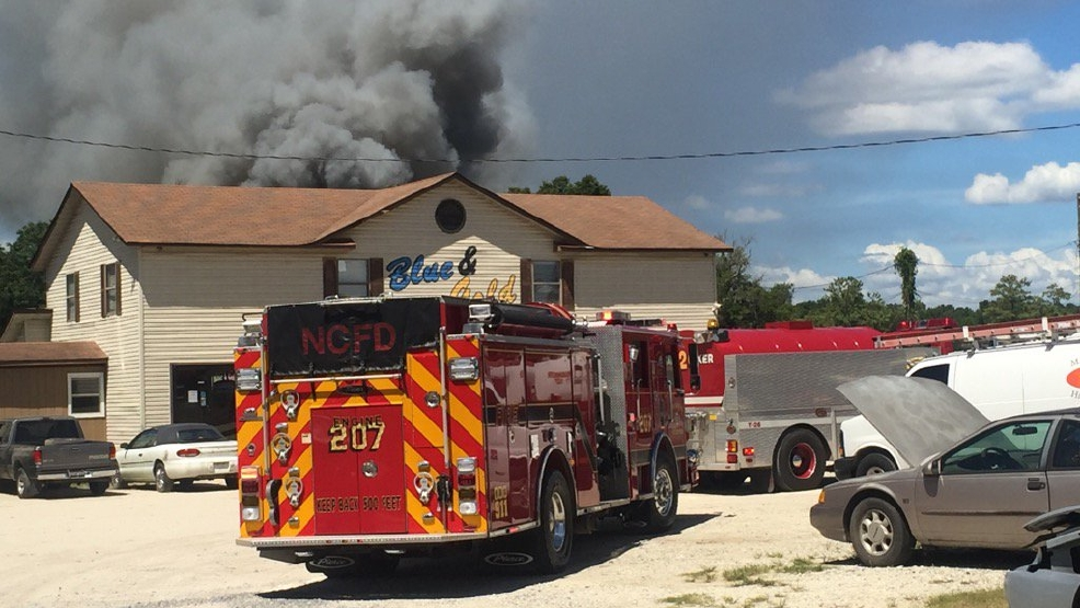 several crews responding to fire at blue and gold auto salvage wciv. Black Bedroom Furniture Sets. Home Design Ideas