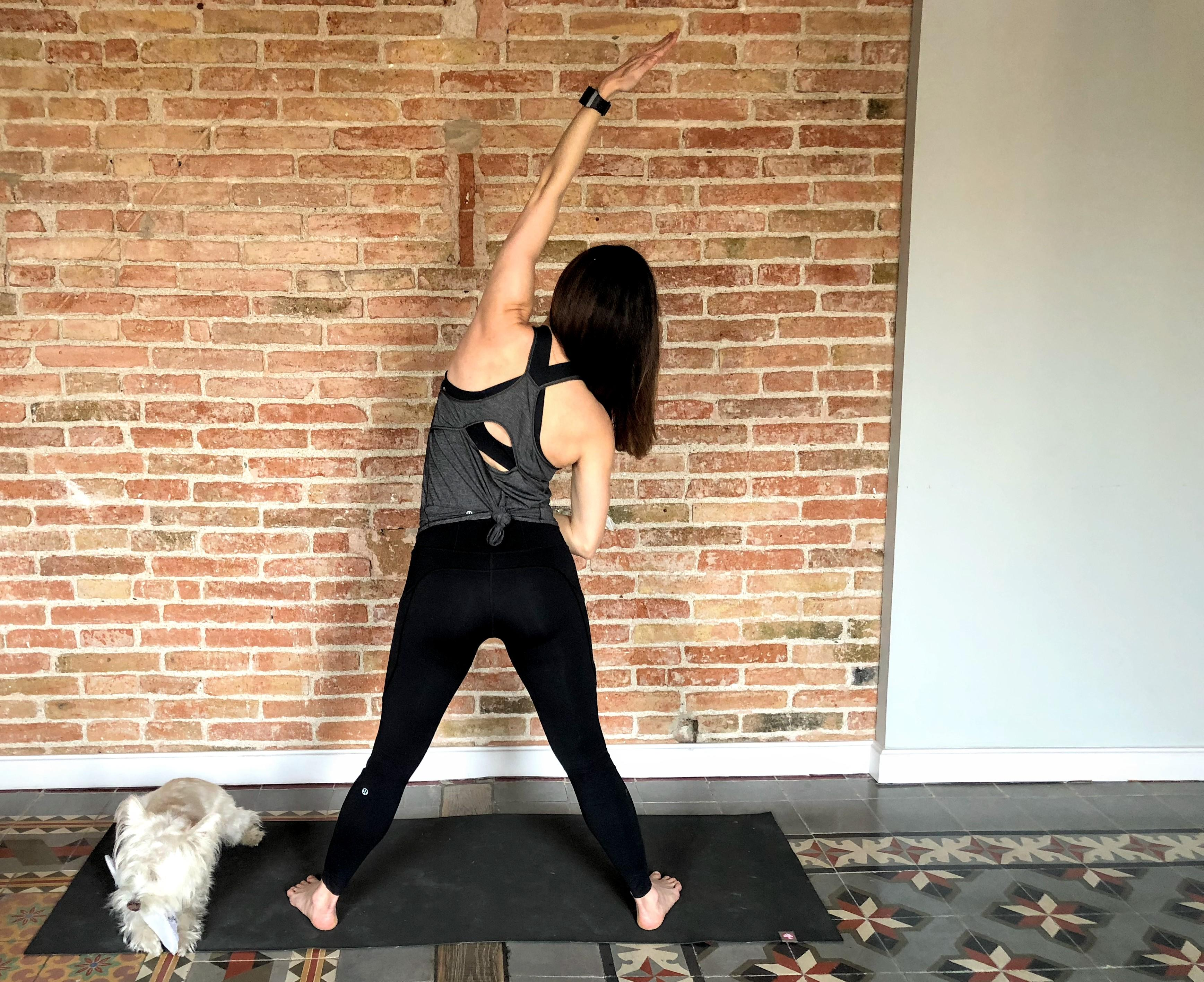 This no-jump workout is also ideal for apartment dwellers trying to keep the peace with neighbors.{ }(Image: Amanda Shapin)