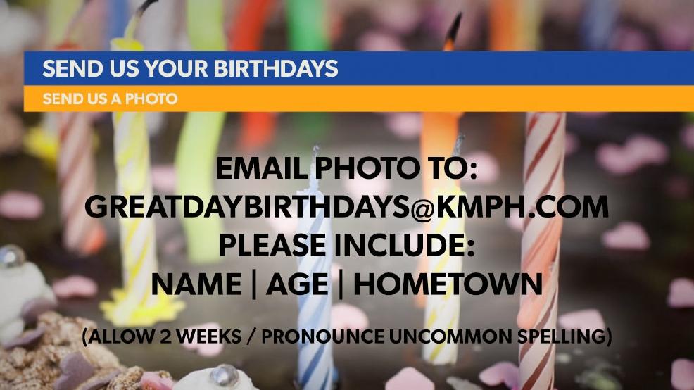 Please Send Your Birthday Wishes To GreatDayBirthdayskmph