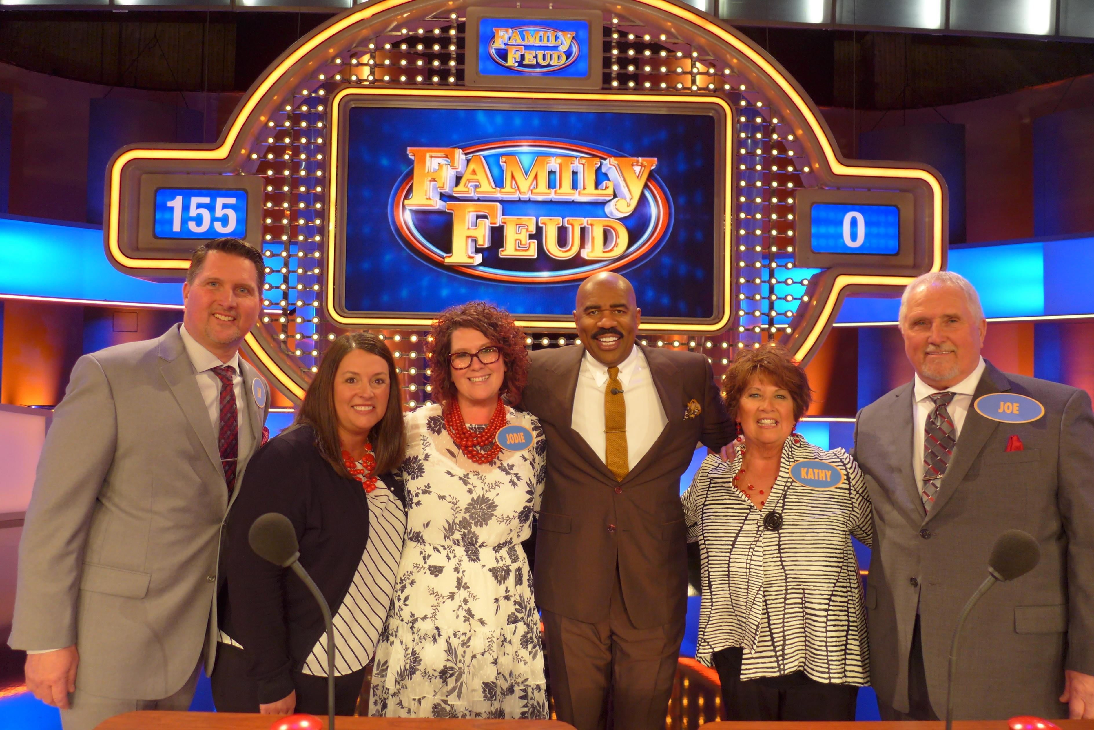 Watch Germantown's own Olszewski Family compete on FAMILY FEUD Thursday, October 3rd at 6:30pm on CW18!