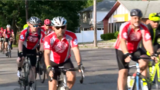 Survivors of Kalamazoo biking tragedy Finish the Ride after memorial dedication
