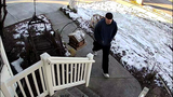Caught on camera: Thief steals Christmas bait package from doorstep in Clinton