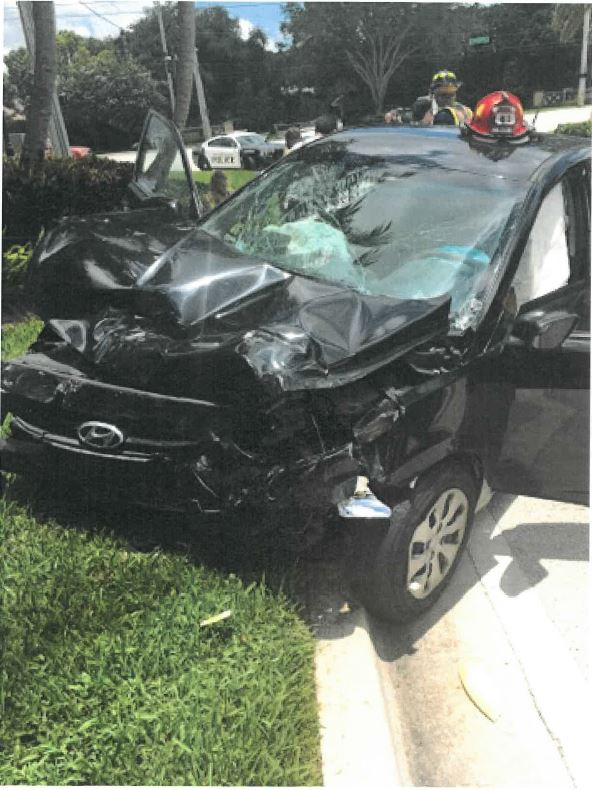 Venus Williams is being sued over a crash that killed 78-year-old Jerome Barson.  Image Courtesy: Inside Edition.
