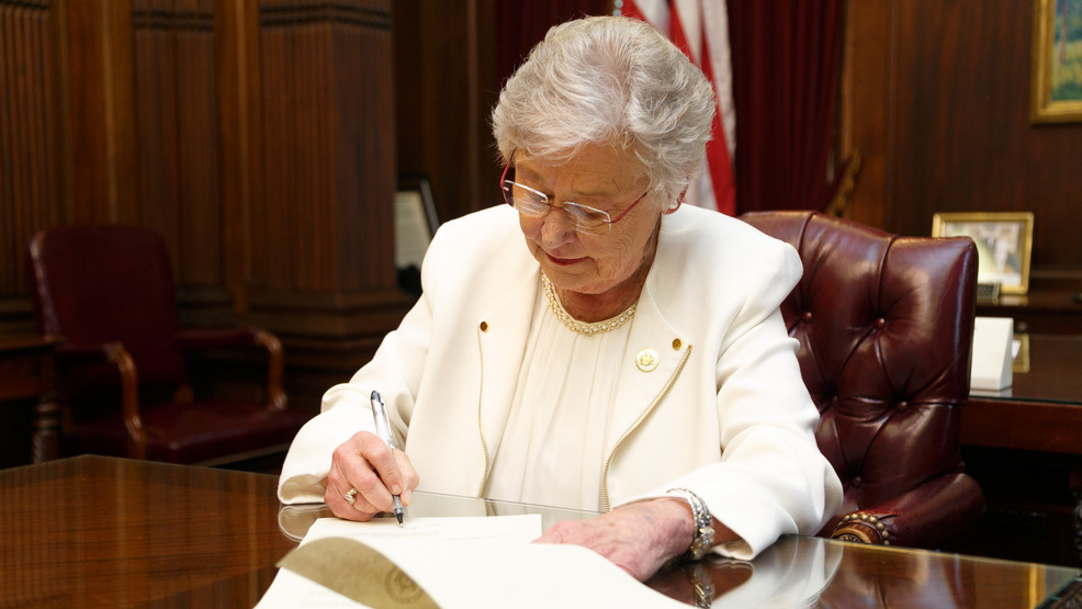 (FILE Photo: Office of Governor Kay Ivey) Governor Ivey expected to sign stolen gun possession bill into law