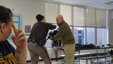 Active shooter training at Baldwin High School