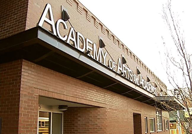 A3, the Academy of Arts and Academics in Springfield, Oregon. (SBG)