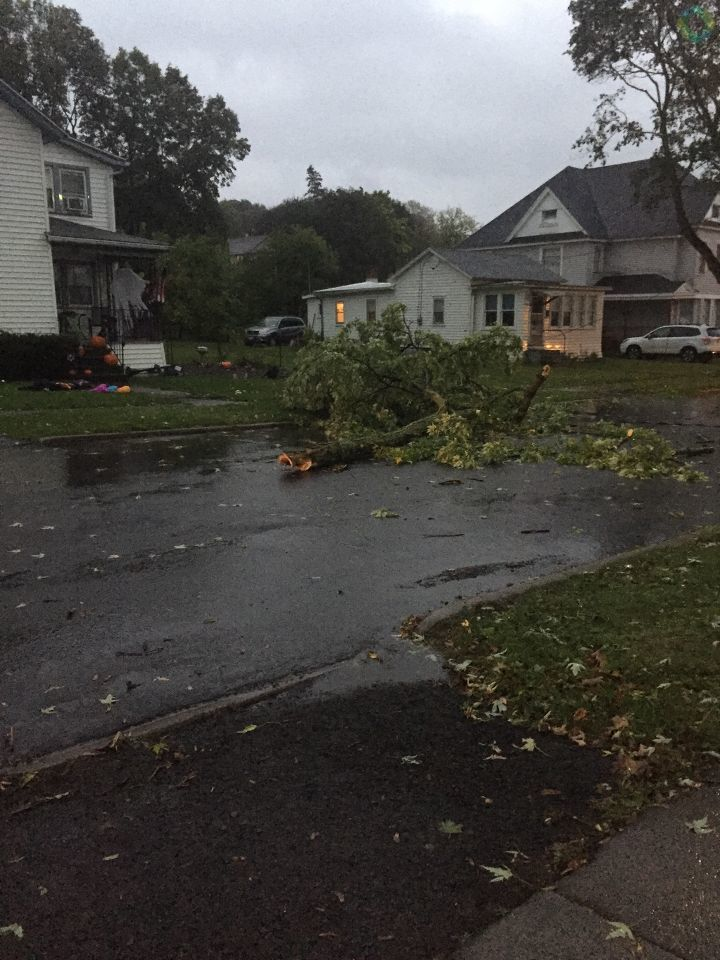 PHOTO GALLERY: Sunday evening storm in CNY