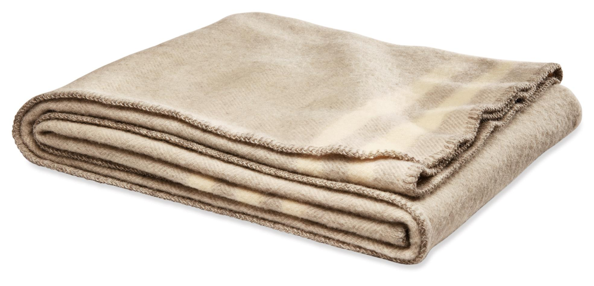 This handsome throw looks super soft! It normally retails for $169.  (Image courtesy of Room & Board)