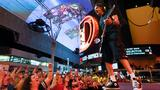 GALLERY | Rick Springfield performs in Fremont Street Experience's 'Downtown Rocks'