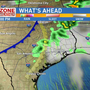 Chance of storms on Friday evening, cooler weather this weekend