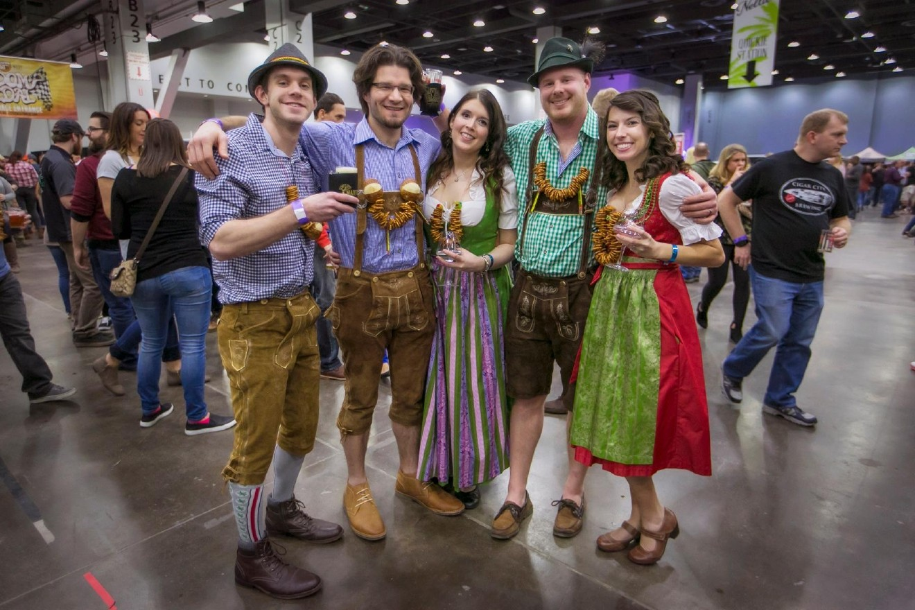 People: Joey Hecht, Dustin & Jacqueline Boyd, and Phil & Stephanie Penrod / Event: Cincy Winter Beerfest (2.17.17) / Image: Mike Bresnen Photography / Published: 3.2.17
