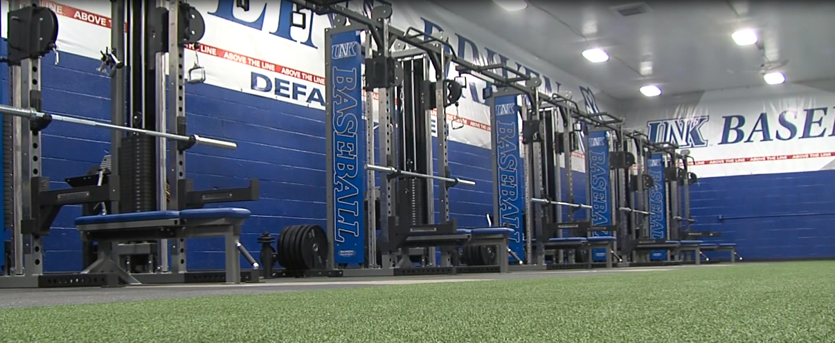 UNK Baseball Upgrading Its Weight Room NTV News