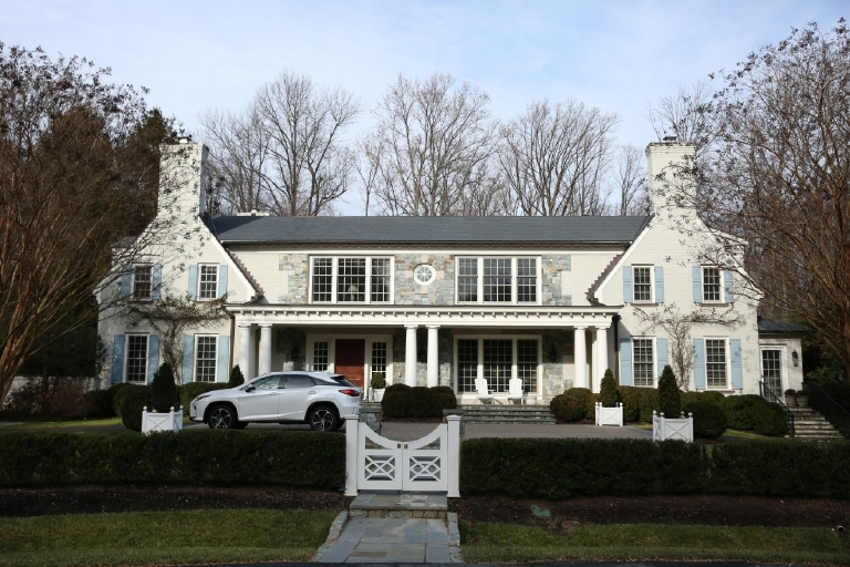 In 2013, Forbes determined that McLean, Virginia,  is the wealthiest zip code in the DMV. The 22102 is home to some of the country's biggest movers and shakers, but some of the houses are definitely fit for royalty. (Amanda Andrade-Rhoades/DC Refined)