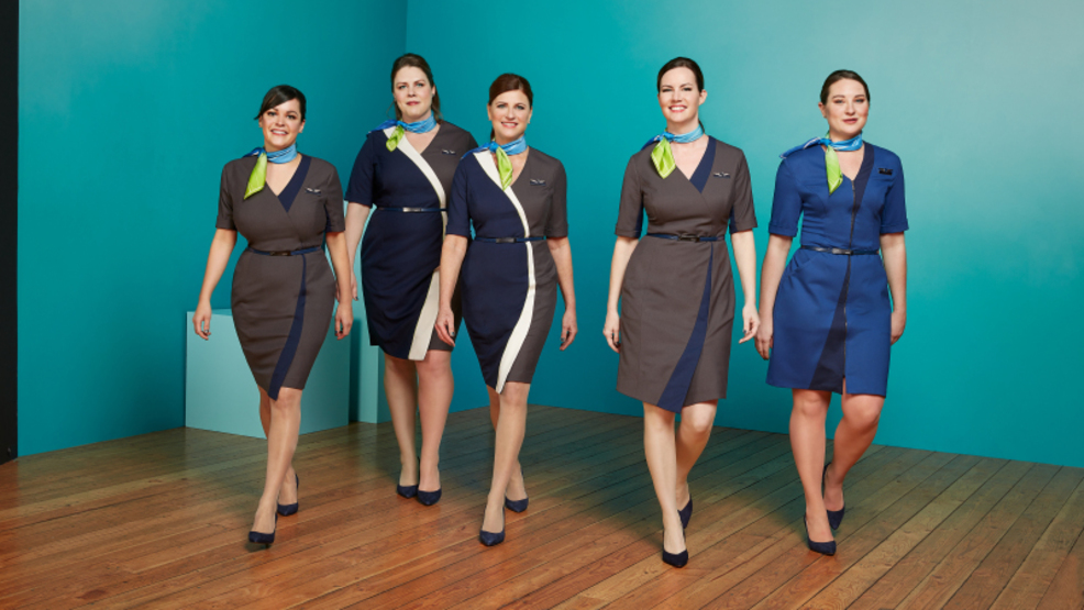 Alaska Airlines unveils new uniforms from Seattle fashion designer Luly Yang