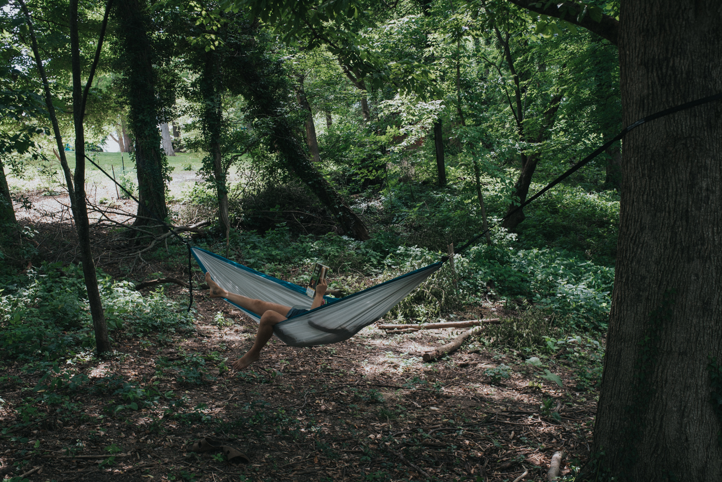 Find two sturdy trees, throw up your hammock, and chill with a book or a nap. The choice is yours. / Location: Devou Park / Address: 1201 Park Dr (41011) / Image: Brianna Long // Published: 6.14.17
