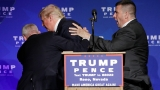 Trump rushed off stage in Reno after someone yells 'gun;' authorities say no weapons found