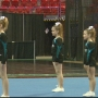 Cheerleaders and dancers compete at the Resch Center