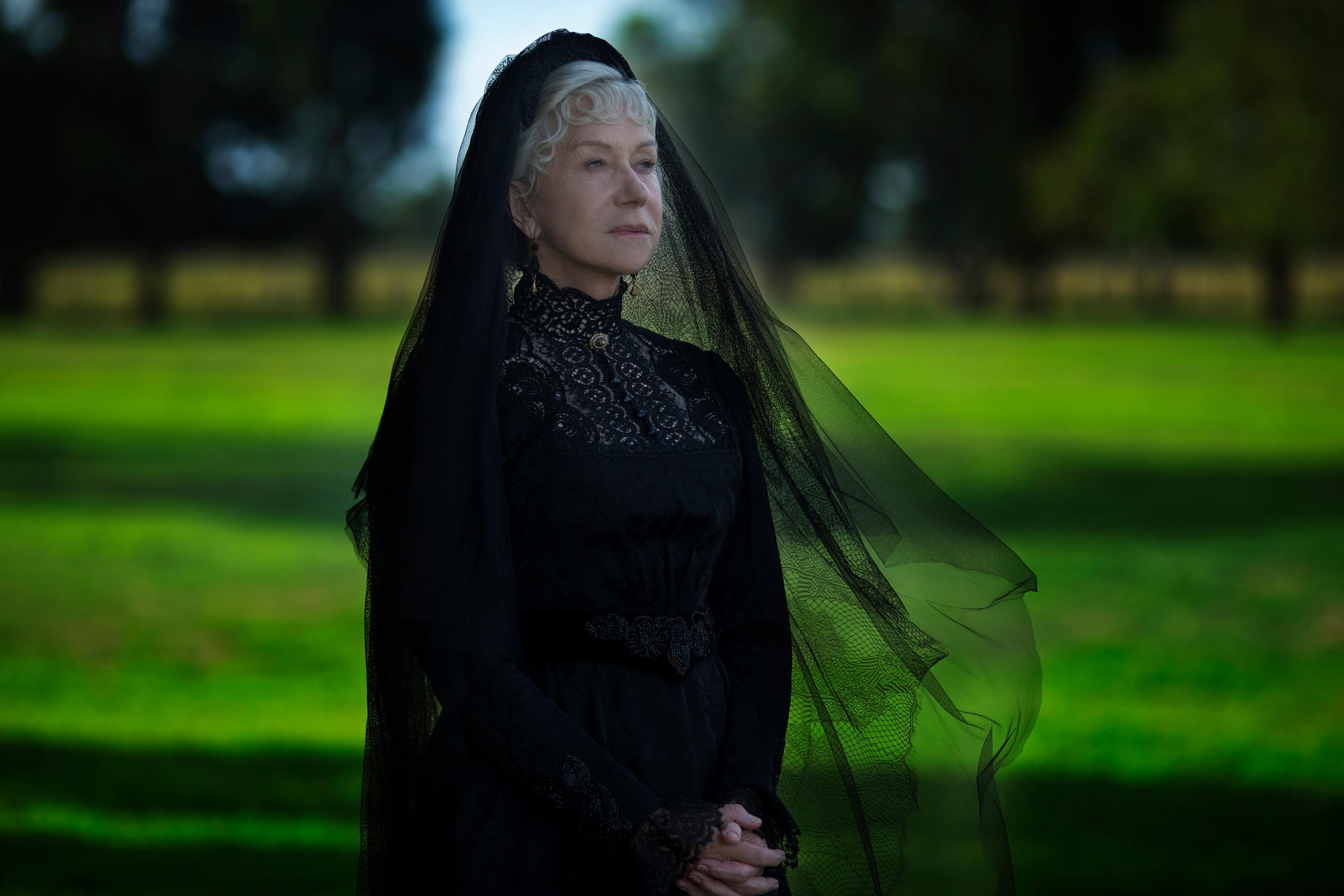 Academy Award® winner Helen Mirren in WINCHESTER to be released by CBS Films and Lionsgate. (Photo: CBS Films)