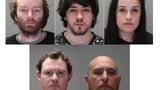 Five accused of stealing more than 300 video games, trying to make fraudulent returns