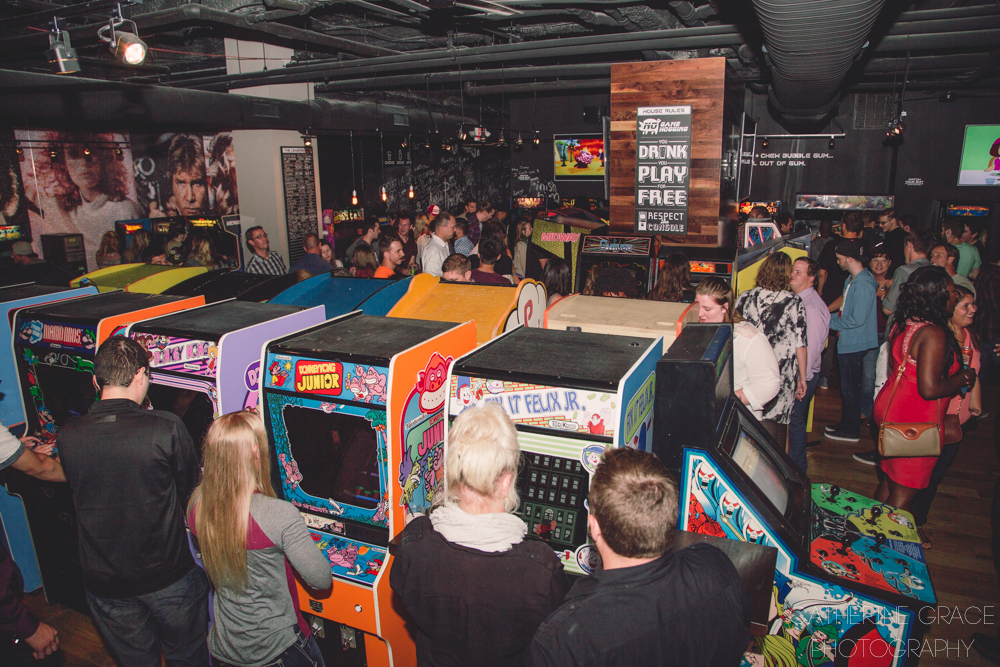 16-Bit Bar + Arcade /  Where: 1331 Walnut St. (45202) /  Why: 'Cause sometimes you just want a night of Pac-Man and Mortal Kombat --  Image: Catherine Viox