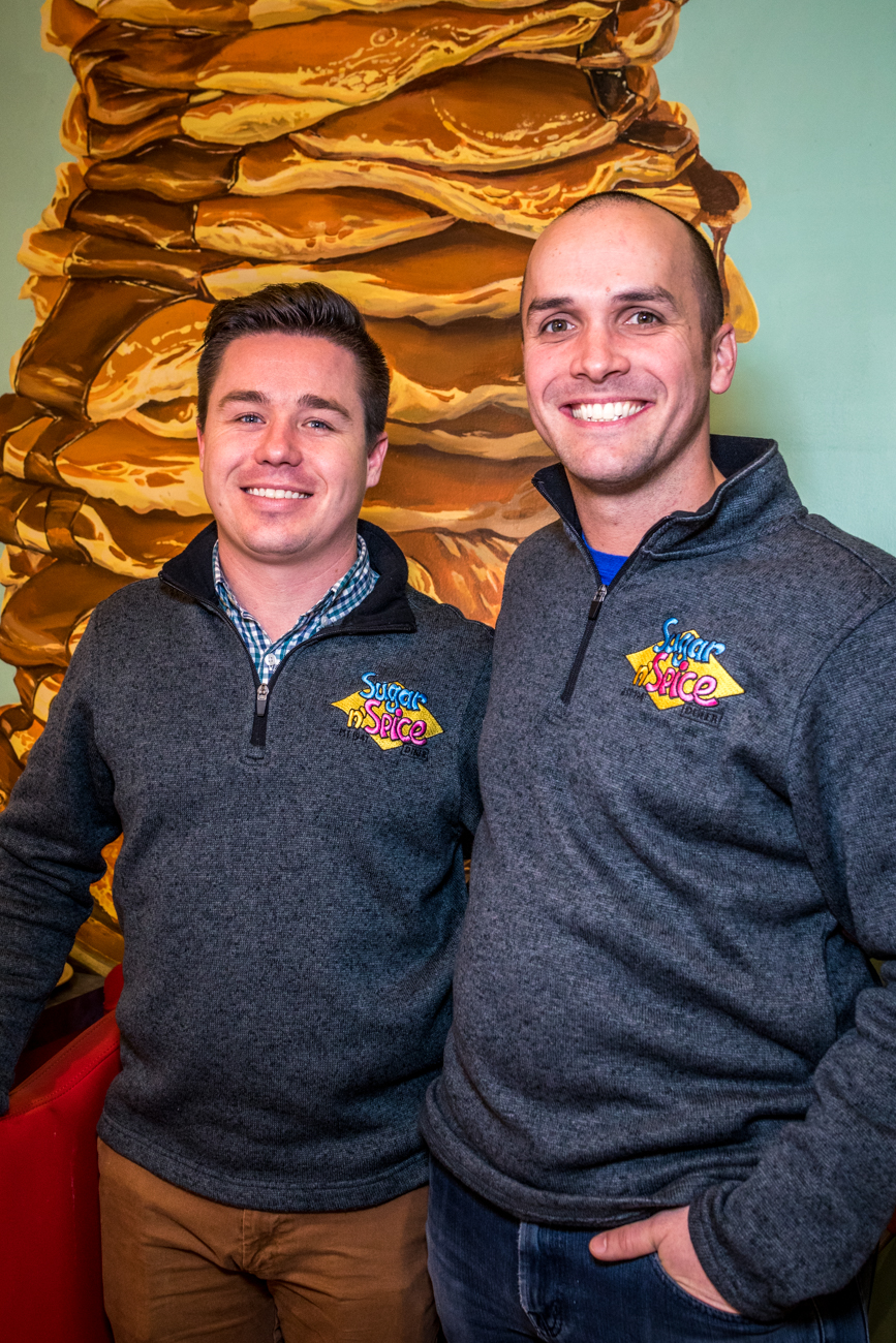 "Adam Mayerson (owner) and Christopher ""CT"" Todd (operating partner) / Image: Catherine Viox{ }// Published: 2.2.20"