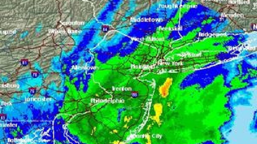 Nor\'easter tracking map: New York, New Jersey in path of first ...