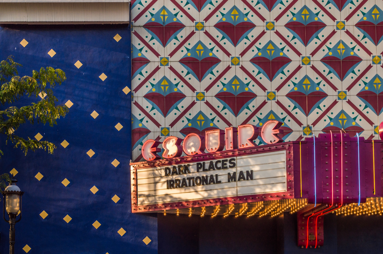 SIGN: Esquire Theatre / ADDRESS: 320 Ludlow Ave, Cincinnati, OH 45220 // Image: Phil Armstrong, Cincinnati Refined // Published: 2.18.17
