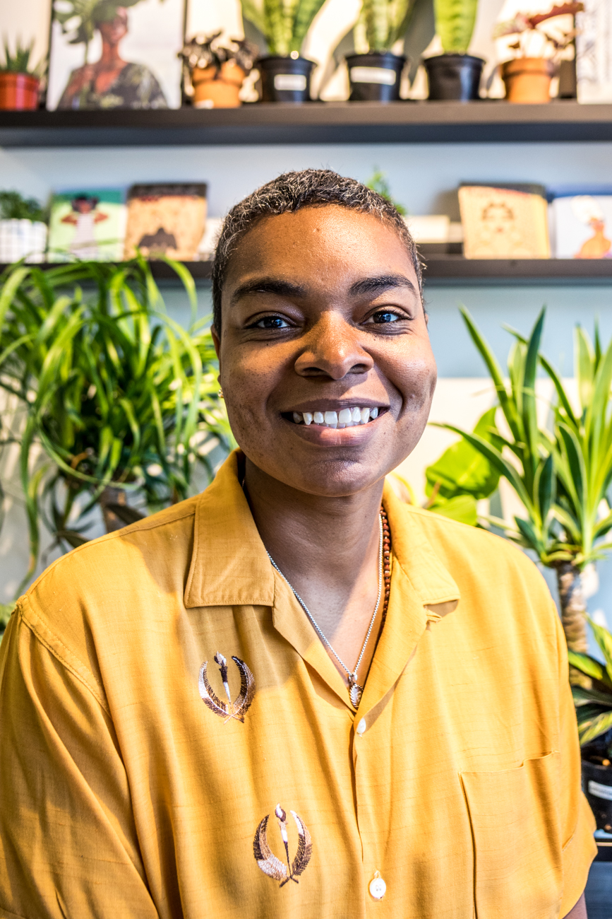Erika Gray, owner of District 78 / Image: Catherine Viox // Published: 8.4.20